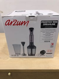 Arzum 1500 watt blender set