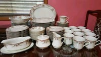 89 Piece Mikasa Ivory China Set  Portland, 97206