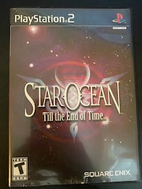 Star ocean 3 till the end of time ps2 Centreville, 20121
