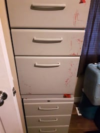 Various 6 to 4 draws office filling cabinet Sudbury, P0M 1S0