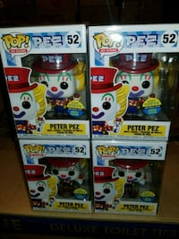 Peter Pez exclusive funko pops $50 EACH  (FIRM PRICE) Toronto, M1L 2T3