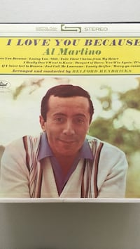 I Love You because Al Martino poster Mechanicsville, 23111