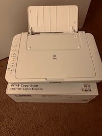 Canon Pixma MG2522. Print-Copy-Scan. Used one time.