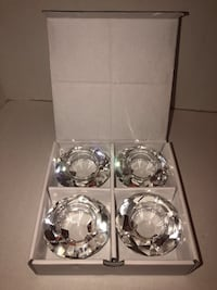 180 Crystal Tea Light Candle Holders Wedding Favours Table Decor
