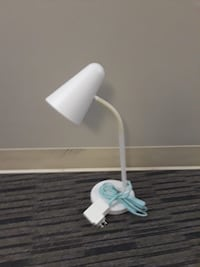 White and gray table lamp New York, 10025