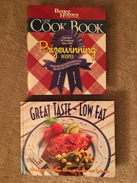 2 Cook Books, like new condition, both for $10 Virginia Beach, 23462