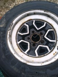 GM wheels and tires S-10 ralleys  make offer 225/55r15