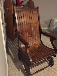 All Wood Rocking Chair