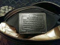 black and brown leather bag Houston