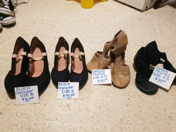 a62a2fa169c Used Variety of dance shoes prices below for sale in Mississauga - letgo