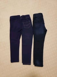 Girls leggings and jeans size 4T Richmond, V6Y 2B6