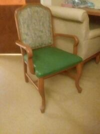 green and brown wooden armchair Kent, 44240