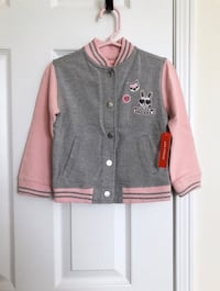 Joe fresh toddler girl's bomber sweater jacket size 3- Brand New with tags 535 km