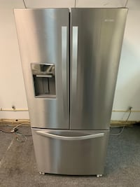 Whirlpool stainless steel French door with warranty  Arlington, 22203