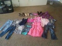 girl's assorted clothes Chandler, 85225
