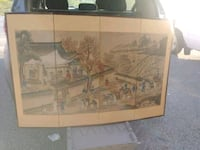 Vintage oriental water color Knoxville