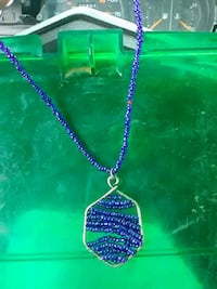Handcrafted blue sapphire necklace  Wasilla, 99623