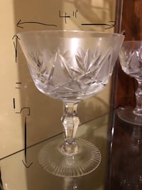 4 sets of crystal glasses available Vaughan, L6A 0M2