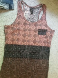 brun och svart tank top Gothenburg, 412 82