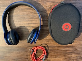 Beats solo on ear wired headphones