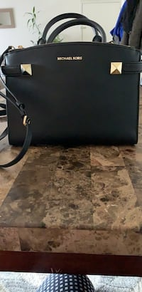 black leather Michael Kors tote bag Leesburg, 20176