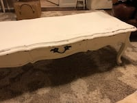 white and brown wooden coffee table Columbus, 43110