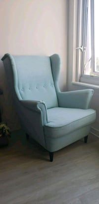 Blue Ikea Standmon Wing Chair Silver Spring, 20910