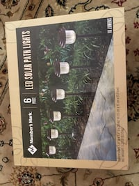 Brand New LED Solar Lights. 6 Pieces Tampa, 33626