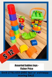 Fisher Price - Toys for babies Coquitlam, V3E 3B8
