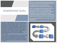 Graphic design - Powerpoint Services Fairfax