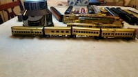 Brass passenger trains. HO model Washington, 20020