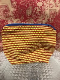 Handmade fully lined make up zipper bags 2391 mi