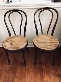 Bentwood chairs - two