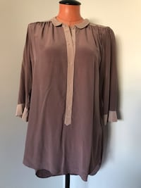 Aritzia Wilfred Silk Top Size Medium