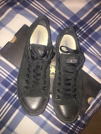 Black Low Cut Converse Size 9 Toronto