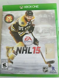 NHL 15 Xbox One game  Mississauga, L5B 0H7