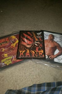 Hulk hogan, the Rock, and Kane posters Las Vegas, 89139