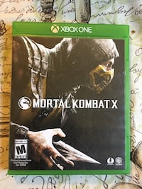 Mortal Kombat X (Xbox one) barley used