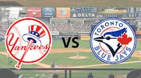 Blue Jays vs. Yankees – July 7…Row 1, Aisle Toronto