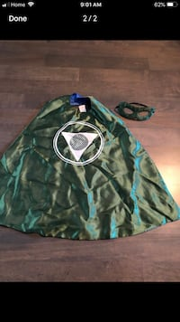 Kids superhero dress up cape - reversible -$7   Markham, L3R 9L4