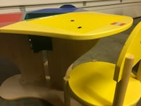 Kids LEGO table with 3 small chairs Akron, 44223