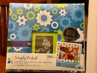 """Simply Perfect"" 8 x 8  Scrapbook Kit Boy Theme ( New )"