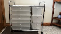 Organizer cart with 9 drawers Chino, 91710