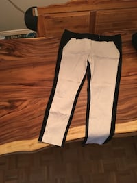 white and black Adidas track pants Ottawa, K1Y 2Z3