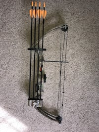 Bear Brave III youth compound bow. Near mint condition.