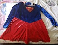 Super Girl Costume in Size L (10-12)- $25 Toronto, M9B 6C4