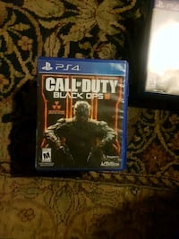 Call of Duty Black Ops III PS4 game case Richmond Hill, L4S 1A1