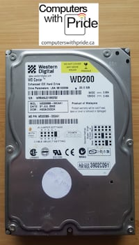 Various IDE Desktop Hard Drives - see list Toronto