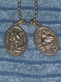 2 Saint medals from Italy  Dayton, 45402