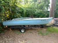 Boat and trailer Columbia, 29223